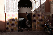 MOROCCO, Marrakesh, December 2010: Old City.