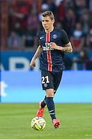 Lucas Digne  - 23.05.2015 - PSG / Reims - 38eme journee de Ligue 1<br />Photo : Andre Ferreira / Icon Sport