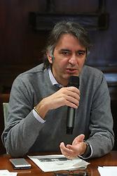 FEDERICO SBOARINA SINDACO DI VERONA<br /> CONFERENZA DI PRESENTAZIONE FINAL FOUR COPPA ITALIA PALLAVOLO FEMMININILE A VERONA<br /> VERONA 25-01-2019<br /> FOTO FILIPPO RUBIN / LVF