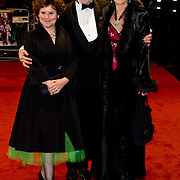 London November 17th    Imelda Staunton, Derek Jacobi and Samantha Bond attend the Royal Premiere of A Bunch of Amateurs  at Odeon Cinema in Leicester Square London on Nov 17 2008...Please telephone : +44 (0)845 0506211 for usage fees .***Licence Fee's Apply To All Image Use***.IMMEDIATE CONFIRMATION OF USAGE REQUIRED.*Unbylined uses will incur an additional discretionary fee!*.XianPix Pictures  Agency  tel +44 (0) 845 050 6211 e-mail sales@xianpix.com www.xianpix.com