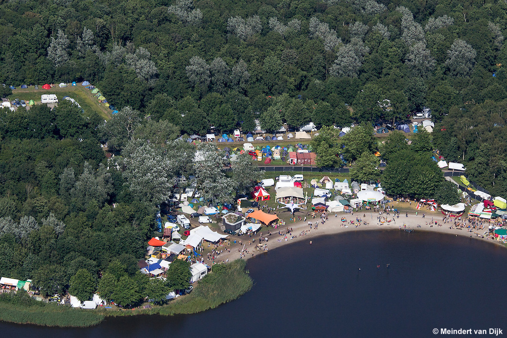 Psy-Fi Festival 2015 in recreatiegebied De Groene Ster bij Leeuwarden