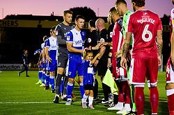 Match mascots prior to kick off - Mandatory by-line: Ryan Hiscott/JMP - 17/09/2019 - FOOTBALL - Memorial Stadium - Bristol, England - Bristol Rovers v Gillingham - Sky Bet League One