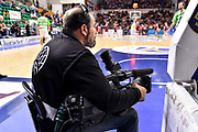 Operatore Video BCL<br /> Banco di Sardegna Dinamo Sassari - Lietkabelis Panevezys<br /> FIBA Basketball Champions League BCL 2019-2020<br /> Sassari, 16/10/2019<br /> Foto L.Canu / Ciamillo-Castoria