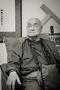 The monk Surai Sasai at Mount Koya, Japan<br /> Photo by Christina Sj&ouml;gren