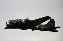American B17, USA Flying Fortress, Bomber, Sally B, Second World War, Duxford Air Show 14th September 2014 American B17, Sally B,