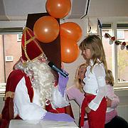 Bezoek Sinterklaas Rabobank Huizen