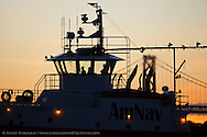 AmNav Tugboat LIBERTY, Captain Matt Jeffcott, Engineer Carter Cassul