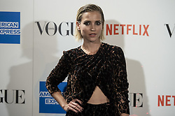 September 13, 2018 - Madrid, Spain - Ana Fernandez attends to photocall of Vogue Fashion Night Out 2018 in Madrid, Spain. September 14, 2018. (Credit Image: © Coolmedia/NurPhoto/ZUMA Press)