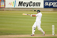Graeme Smith of South Africa hits a boundary during Day 2 of the Sunfoil Test Series between South Africa and Australia played at Sahara Park Newlands, Cape Town, South Africa on the 10th November2011. Photo by Jacques Rossouw/SPORTZPICS