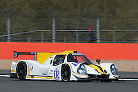 Morten Dons (DNK) / Ross Warburton (GBR) / Ossy Yusuf (GBR)  #15 RLR Msport, Ligier JS P3, Nissan VK50VE 5.0 L V8, during the Race  as part of the ELMS 4 Hours of Silverstone 2016 at Silverstone, Towcester, Northamptonshire, United Kingdom. April 16 2016. World Copyright Peter Taylor. Copy of publication required for printed pictures.