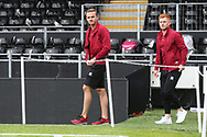 James Maddison of Norwich and Harrison Reed of Norwich before the Sky Bet Championship match at Craven Cottage, London<br /> Picture by Paul Chesterton/Focus Images Ltd +44 7904 640267<br /> 05/08/2017