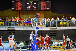 Jaka Blazic of Slovenia during friendly basketball match between National teams of Slovenia and Hungary on day 1 of Adecco Cup 2017, on August 4th in Arena Tabor, Maribor, Slovenia. Photo by Grega Valancic/ Sportida