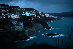 UK ENGLAND FOWEY 19FEB15 - General view of Fowey, Cornwall, England. Fowey, a small fishing and harbour village was the living place of famous English writer Daphne Du Maurier and many of her novels are based here.<br /> <br /> jre/Photo by Jiri Rezac<br /> <br /> &copy; Jiri Rezac 2015