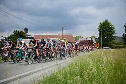 Tanja Erath (GER) in the bunch at Lotto Thuringen Ladies Tour 2018 - Stage 3, a 131 km road race starting and finishing in Schleiz, Germany on May 30, 2018. Photo by Sean Robinson/Velofocus.com