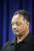 September 19, 2012- New York, New York:  Rev. Jesse Jackson(pictured) of The Rainbow PUSH Coalition has once again secured the release of 2 U.S. Citizens held as prisoners in the Gambia in Africa. Former Prisoner Amadou Scattred Janneh, a former Professor at the University of Tennessee, who held dual US Citizenship with the Gambia, was serving a life sentence for Treason. In addition to him, Tamsir Jessah, a U.S Citizen and former U.S. Military Veteran with dual citizenship with the West African nation was also serving a twenty-year sentence for Treason. With a face-to-face appeal by Rev. Jesse L. Jackson, with the Yayha Jammeh, President of The Gambia an agreement was made to release the two American citizens into Rev. Jackson's custody who allow them to return to the United States with Jackson Tuesday night.  The two men returned to the U.S. by plane with Rev. Jackson from The Gambia to joyfully grateful waiting family members. In addition, President Jammeh has agreed to extend the moritorium on executions indefinitely, marking a significant gain for Human Rights in the West African Nation. (Terrence Jennings)
