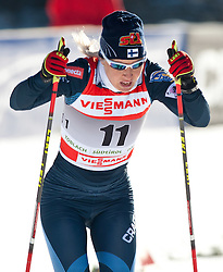 05.01.2011, Nordic Arena, Toblach, ITA, FIS Cross Country, Tour de Ski, Qualifikation Sprint Women and Men, im Bild Riitta-Liisa Roponen (FIN, #11). EXPA Pictures © 2011, PhotoCredit: EXPA/ J. Groder