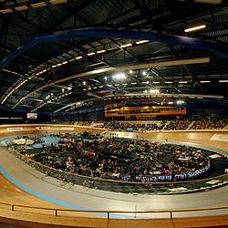 Sfeer foto van het NK Baanwielrennen in Apeldoorn