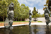 Main Plaza at Cerritos Sculpture Gardens
