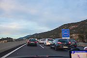 Massive queues crossing Spain-France Border following controls put in place after November Paris attacks.