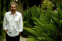 "British Director Mike Figgis at his Los Angeles Home. He did the movie ""Leaving Las Vegas,"" and has a new film coming out about Vampires at a Hotel. Also, he has a mainstream movie in the works for Disney."