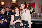 KATIE BANKS; kEIRA KNIGHTLEY;;  The Society of London Theatre lunch for all the nominees for the 2010 Laurence Olivier Awards. Haymarket Hotel, 1 Suffolk Place, London, 2 March 2010
