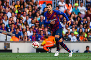 Gerard Pique from Spain during the Joan Gamper trophy game between FC Barcelona and CA Boca Juniors in Camp Nou Stadium at Barcelona, on 15 of August of 2018, Spain, Photo Xavier Bonilla / SpainProSportsImages / DPPI / ProSportsImages / DPPI
