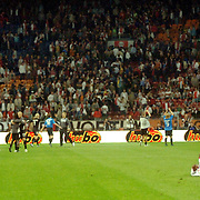 NLD/Amsterdam/20060823 - Ajax - FC Kopenhagen, teleurstelling bij Ryan Babel na nederlaag