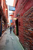 Fan Tan Alley is in the heart of Canada's oldest Chinatown in Victoria, BC. With just five feet wide in width, and a height of three stories it features a number of interesting stores.