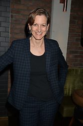 ANNE APPLEBAUM at a dinner hosted by Lucy Yeomans and Amanada Foreman to celebrate the launch of the film Georgiana, Duchess of Devonshire held at sackville's, Sackville Street, London on 7th September 2015.