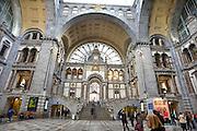 Belgie, Antwerpen, 8-10-2012Het interieur van het centraal treinstation van deze stad.Foto: Flip Franssen/Hollandse Hoogte