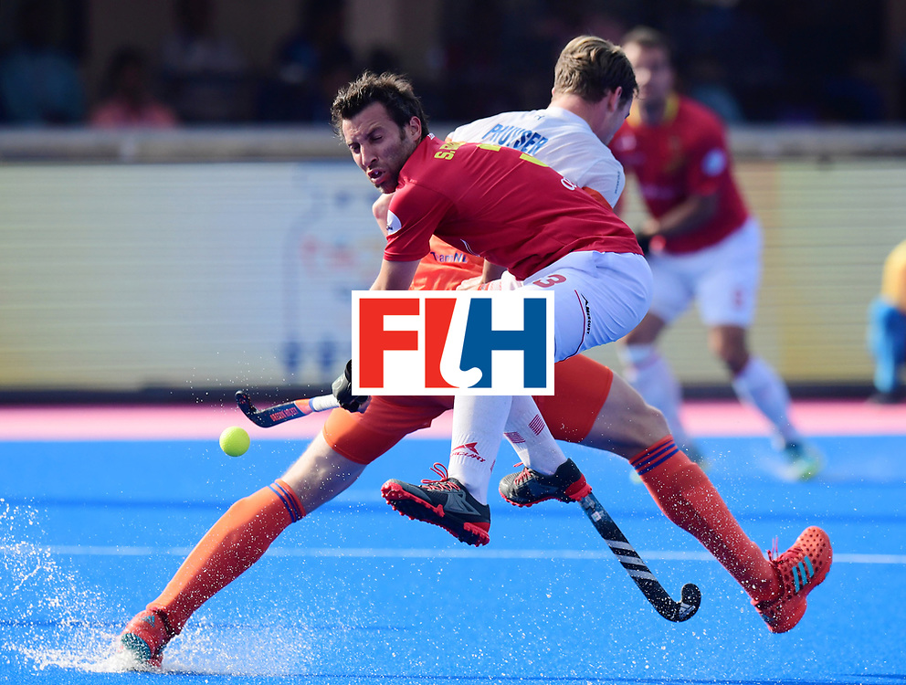 Odisha Men's Hockey World League Final Bhubaneswar 2017<br /> Match id:04<br /> Netherlands vs Spain<br /> Foto: Sergi Enrique (Esp) <br /> WORLDSPORTPICS COPYRIGHT FRANK UIJLENBROEK