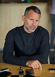 BARRY, WALES - Thursday, October 3, 2019: Wales manager Ryan Giggs speaks to the written media after a press conference to announce his squad for the forthcoming UEFA Euro 2020 Qualifying Group E qualifying matches against Slovakia and Croatia. (Pic by David Rawcliffe/Propaganda)