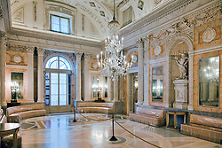 Ballroom, Borromeo Palace, Isola Bella,  Lake Maggiore, Northern Italy