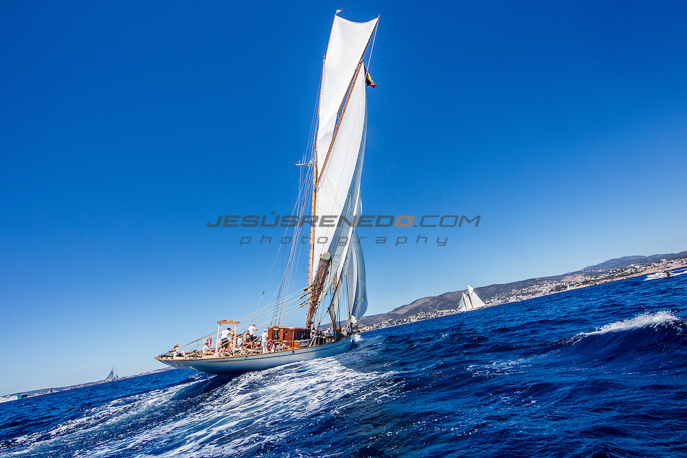 The Big Class Day Sail , SYC 2016, Schooners sailing in the Bay of Palma, 22nd of June 2016<br /> &copy;jesusrenedo.com