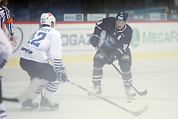 28.08.2015, Dom Sportova, Zagreb, CRO, KHL League, KHL Medvescak vs Admiral Vladivostok, 2. Runde, im Bild Tuukka Mantyla. // during the Kontinental Hockey League, 2nd round match between KHL Medvescak and Admiral Vladivostok at the Dom Sportova in Zagreb, Croatia on 2015/08/28. EXPA Pictures © 2015, PhotoCredit: EXPA/ Pixsell/ Goran Jakus<br /> <br /> *****ATTENTION - for AUT, SLO, SUI, SWE, ITA, FRA only*****