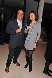 SUSAN SEARL and CHRISTIAN LEE at the London Design Week 2013 Party, held at the Design Centre, Chelsea Harbour, London SW10 on 18th March 2013.