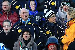 29.12.2012, Panoramapiste, Semmering, AUT, FIS Weltcup Ski Alpin, Slalom, Damen, 1. Lauf, im Bild Landes Hauptmann Dr. Erwin Proell  // during the 1st run of the ladies slalom of the FIS Ski Alpine World Cup at the Panoramapiste course, Semmering, Austria on 2012/12/29. EXPA Pictures © 2012, PhotoCredit: EXPA/ Stephan Woldorn