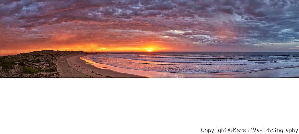 sunrise on Bancoora Beach