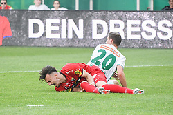 25.05.2019, Allianz Stadion, Wien, AUT, 1. FBL, SK Rapid Wien vs Cashpoint SCR Altach, Qualifikationsgruppe, 32. Spieltag, im Bild v.l. Mergim Berisha (SCR Altach), Maximilian Hofmann (Rapid Wien) // during the tipico Bundesliga qualification group 32nd round match between SK Rapid Wien and Cashpoint SCR Altach at the Allianz Stadion in Wien, Austria on 2019/05/25. EXPA Pictures © 2019, PhotoCredit: EXPA/ Lukas Huter