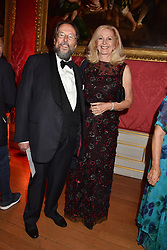 The Earl & Countess of Stockton at the Tusk Ball at Kensington Palace, London, England. 09 May 2019.