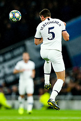 Jan Vertonghen of Tottenham Hotspur in action - Rogan/JMP - 01/10/2019 - FOOTBALL - Tottenham Hotspur Stadium - London, England - Tottenham Hotspur v Bayern Munich - UEFA Champions League Group B.