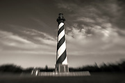 LB00155-00...NORTH CAROLINA - LensBaby photo of the Cape Hatteras Lighthouse in Buxton, Cape Hatteras National Seashore.