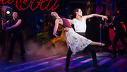 Strictly Ballroom <br /> By Baz Luhrmann <br /> At The Piccadilly Theatre, London, Great Britain <br /> Press photocall <br /> 17th April 2018 <br /> <br /> Jonny Labey as Scott Hastings <br /> Zizi Strallen as Fran <br /> Will Young as Band Leader <br /> <br /> <br /> And company