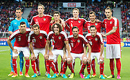 Heinz Lindner, Marc Janko, Alessandro Schoepf, Martin Hinteregger, Markus Suttner, Marko Arnautovic <br /> Aleksandar Dragovic, Florian Klein, Julian Baumgartlinger, Martin Harnik, Zlatko Junuzovic of Austria during the International Friendly match at Worthersee Stadion, Klagenfurt, Austria.<br /> Picture by EXPA Pictures/Focus Images Ltd 07814482222<br /> 31/05/2016<br /> ***UK &amp; IRELAND ONLY***<br /> EXPA-GRO-160531-5339.jpg