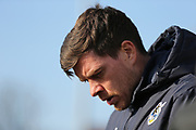 Bristol Rovers manager Darrell Clarke during the EFL Sky Bet League 1 match between Bristol Rovers and Scunthorpe United at the Memorial Stadium, Bristol, England on 24 February 2018. Picture by Gary Learmonth.