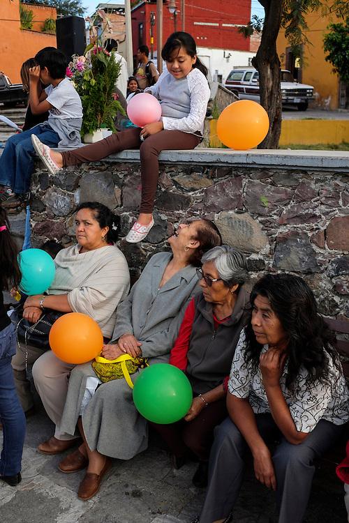Ceremony. San Miguel de Allende, Mexico.