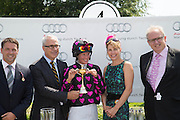 Philippa Holland; DARCEY BUSSELL, Glorious Goodwood. Thursday.  Sussex. 3 August 2013