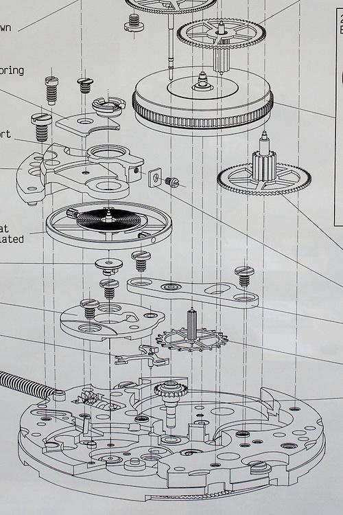 Taller de relojeria ROLEX. Establecida en Ginebra (Suiza), Rolex, sinónimo de lujo en los relojes de pulsera, ha sido el símbolo indiscutible del rendimiento y el prestigio durante más de un siglo. La empresa posee 28 filiales en el mundo entero y 4.000 relojeros en más de 100 países. Caracas, 15-05-08 (ivan gonzalez)