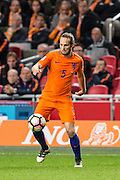Daley Blind  during the FIFA World Cup Qualifier match between Netherlands and France at the Amsterdam Arena, Amsterdam, Netherlands on 10 October 2016. Photo by Gino Outheusden.