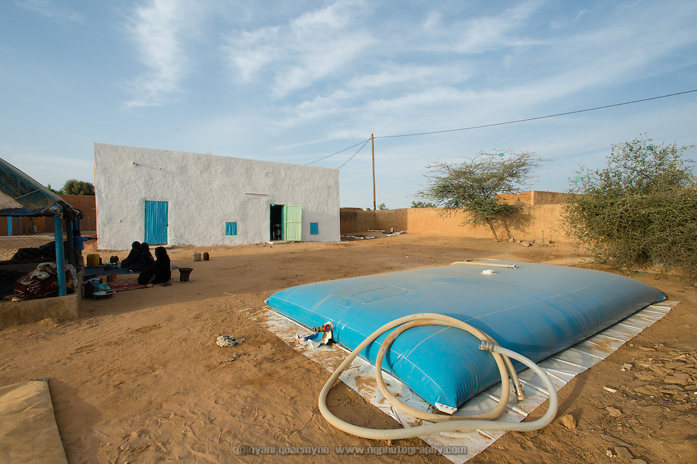 The emergency water supply at the recently completed Médecins Sans Frontières (MSF) surgical unit in Bassikounou, Mauritania on 2 March 2013. Now that the surgical unit is operational, surgical emergencies no longer have to be referred to the nearest government hospital, which is six hours away.